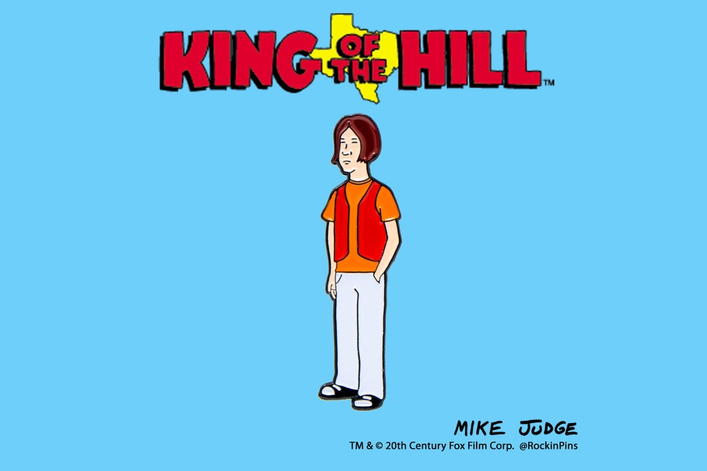 Image of King of the Hill - Buckley Enamel Pin