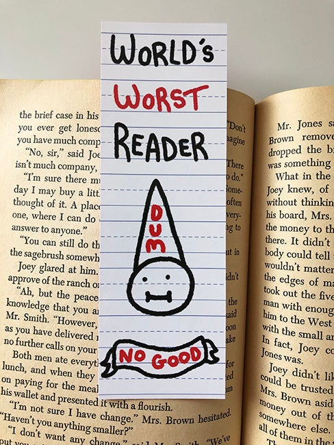 Image of Worst Reader Bookmark