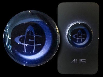 Image of Au5 Full Color Pin
