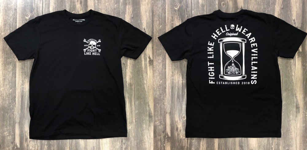 Image of FIGHT LIKE HELL tee
