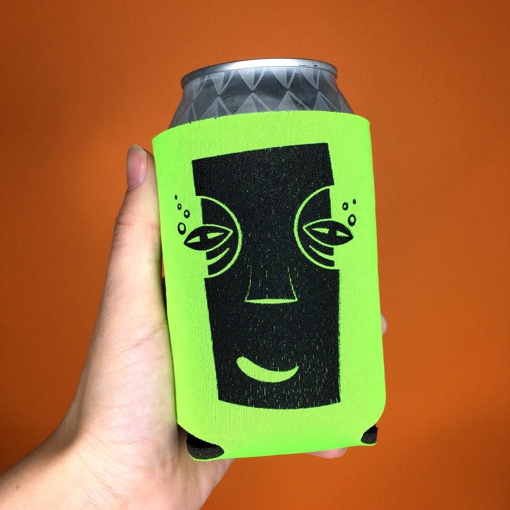 Image of Happy Drunk Tiki Koozie