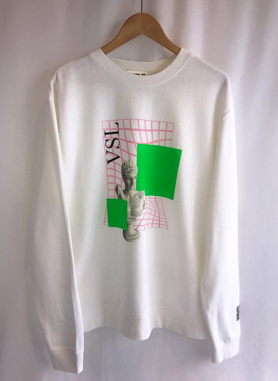 Image of 'Pauli' White Sweatshirt