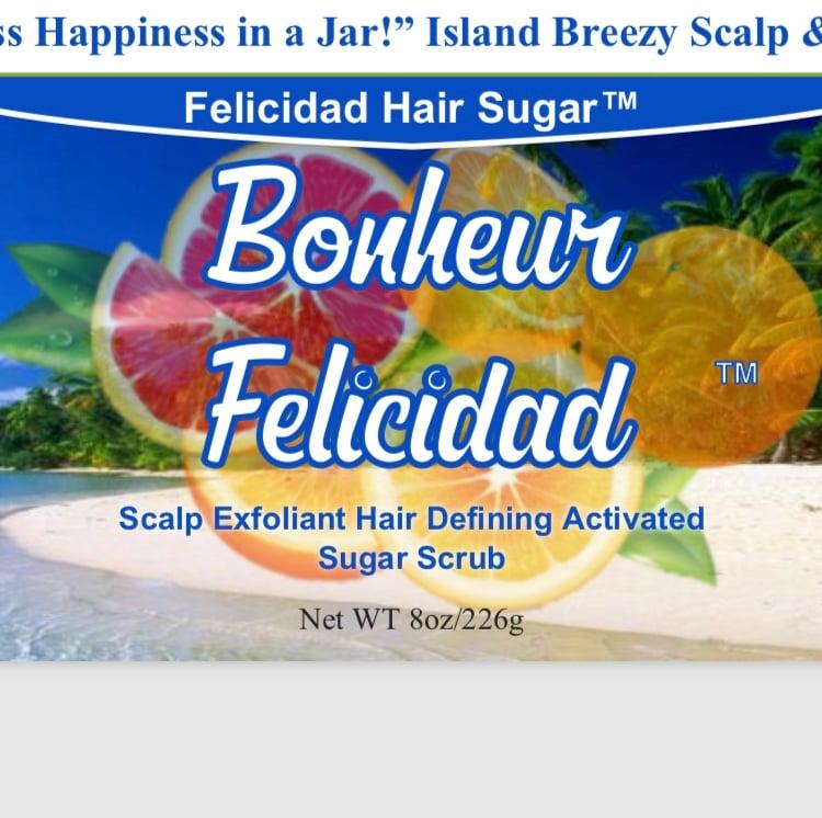 Image of Bonheur Felicidad Hair Sugar 8oz