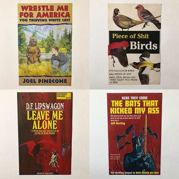 Image of Paperback Poster Bundle
