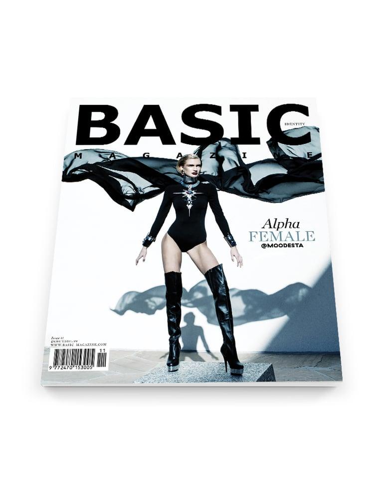 Image of BASIC  ALPHA FEMALE Cover || IDENTITY Issue 11