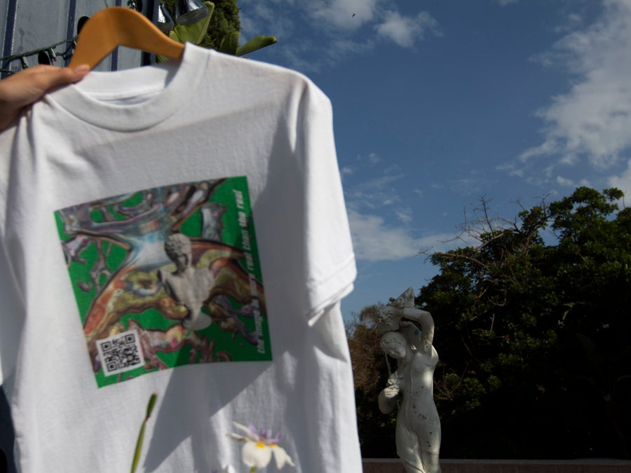 Image of 'Beatrix' White T Shirt