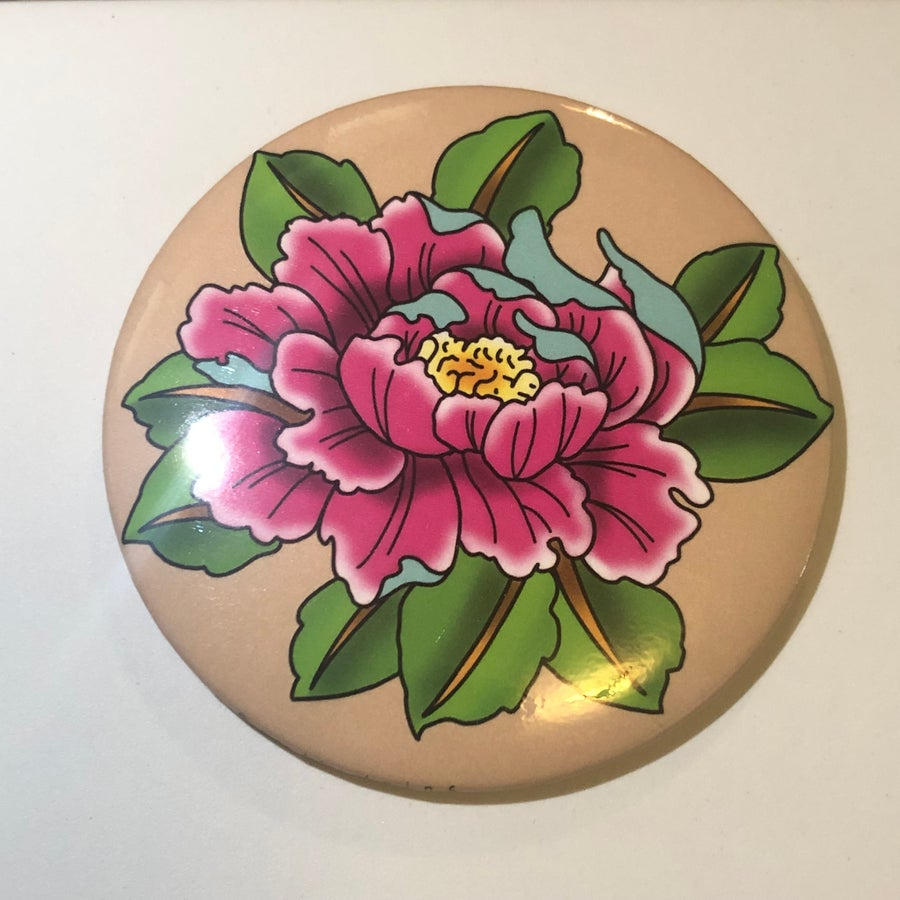 Image of Peony Pocket Mirror