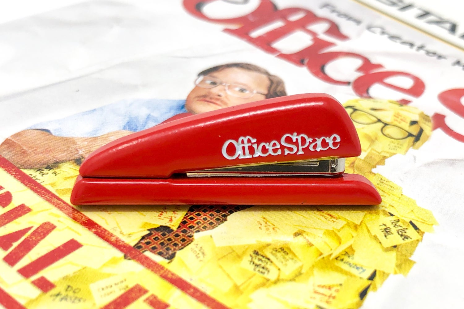 Image of Office Space - 3D Red Stapler Pin