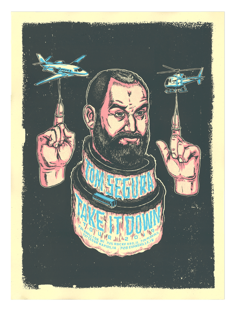 Image of Tom Segura tour poster