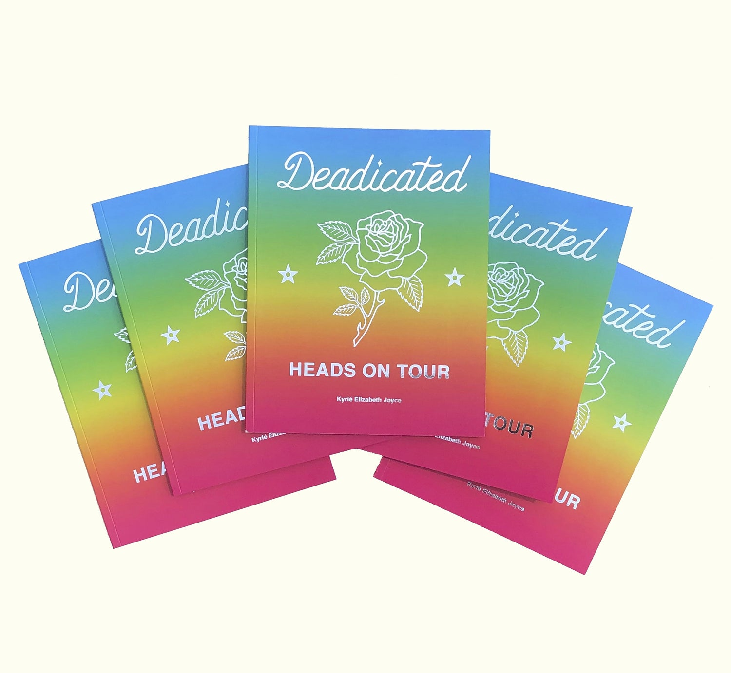Image of Deadicated: Heads on Tour photobook