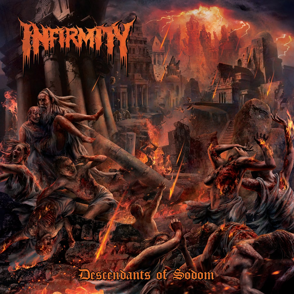 Image of [PRE-ORDER] Decadents of Sodom (CD)