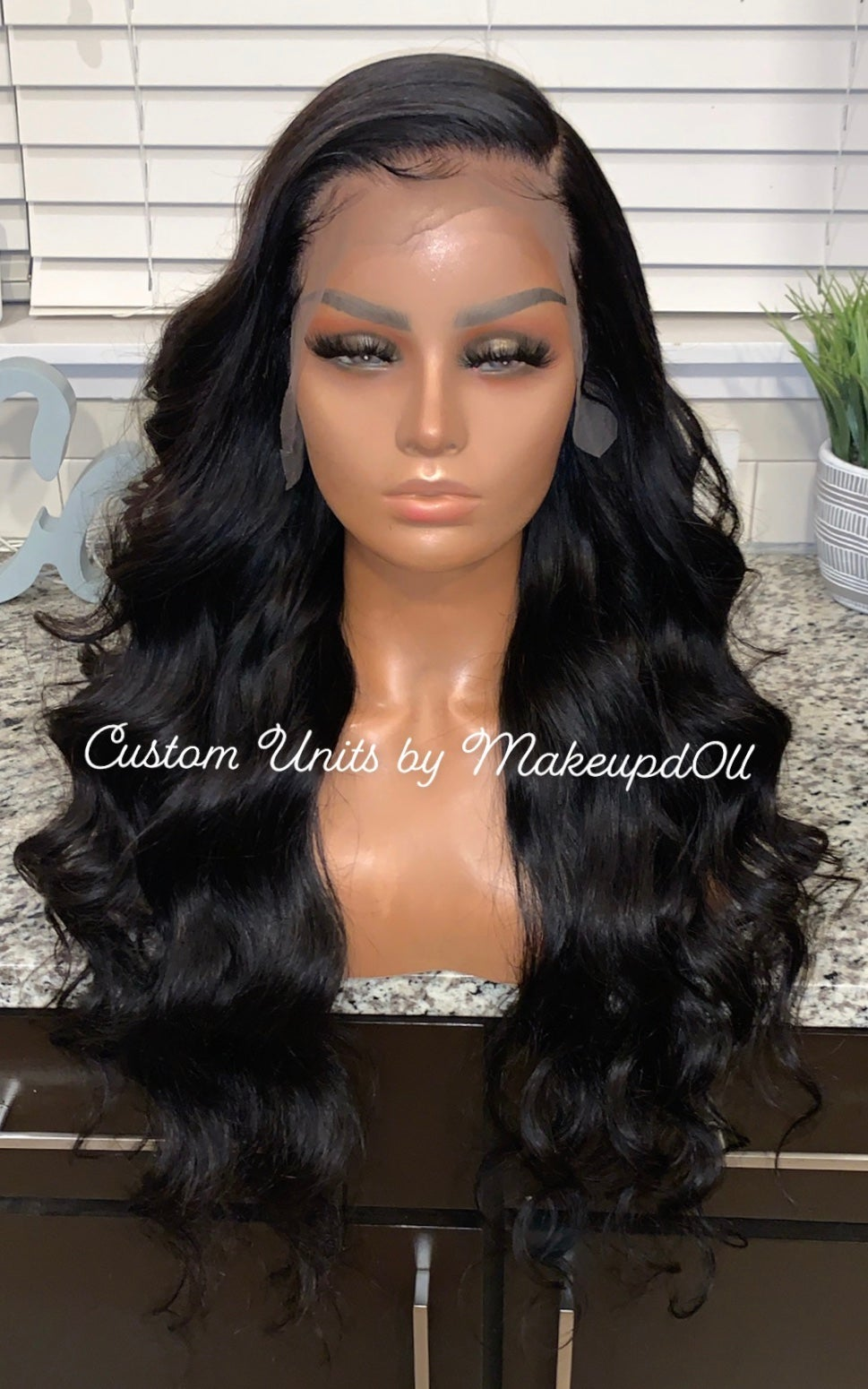"Image of Brazilian Body Wave 26"" 13x6 Custom Lace Frontal Wig!"