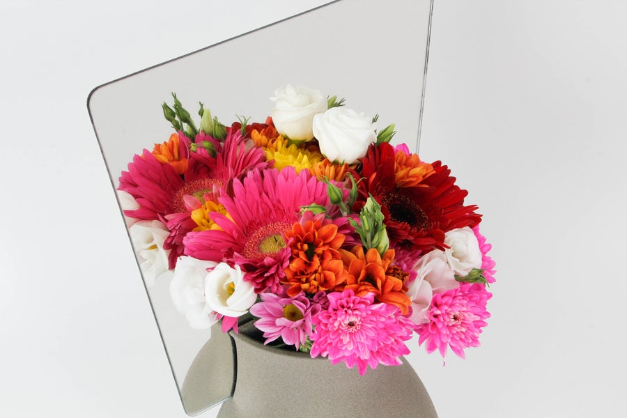 Image of Double my Flowers vase