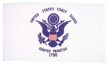 Image of U.S. Coast Guard Flag