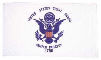 Image of U.S. Coast Guard Flag