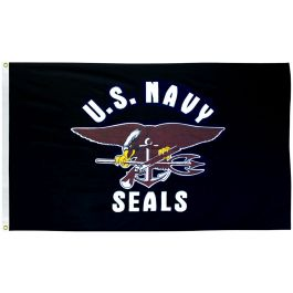 Image of U.S. Navy Seals Flag