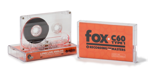 Image of RTM fox C60 Type 1 Cassette