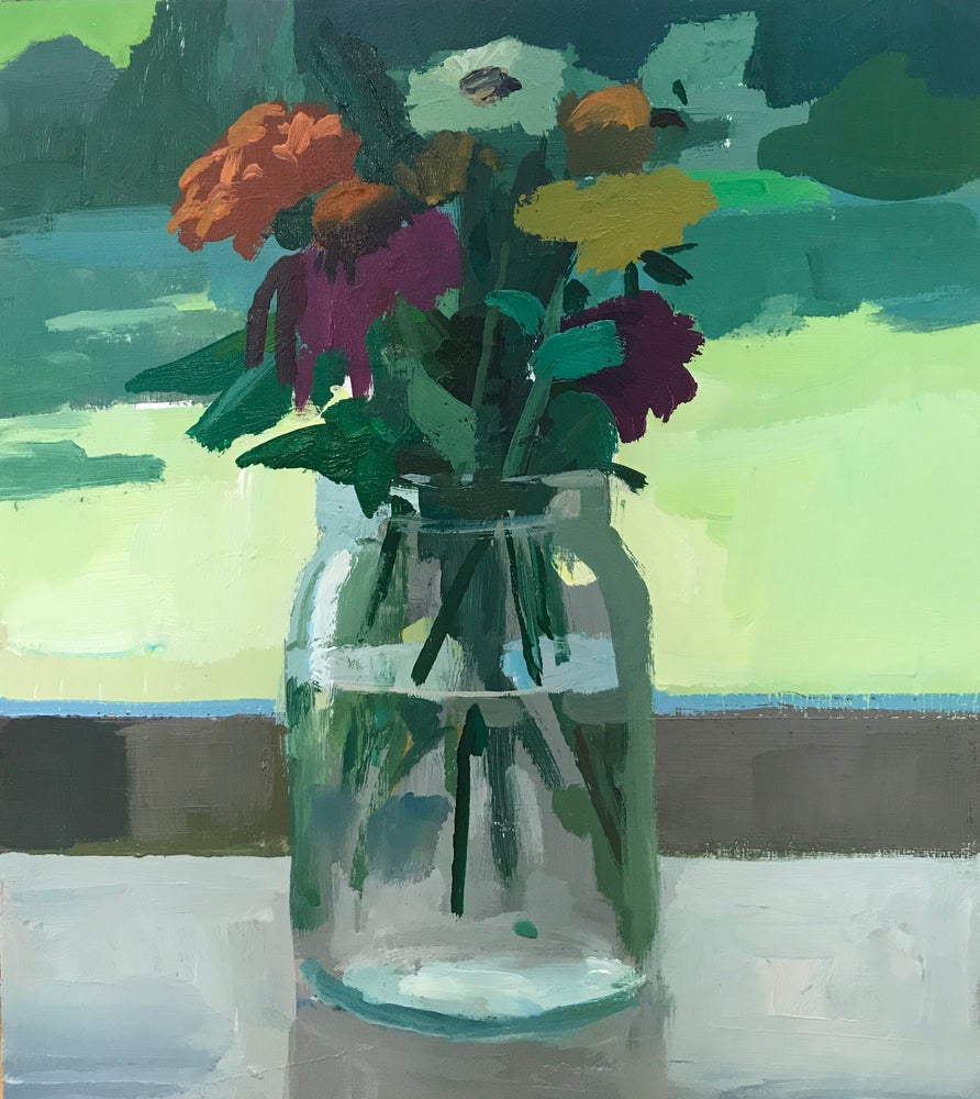 Image of Flowers in a jar