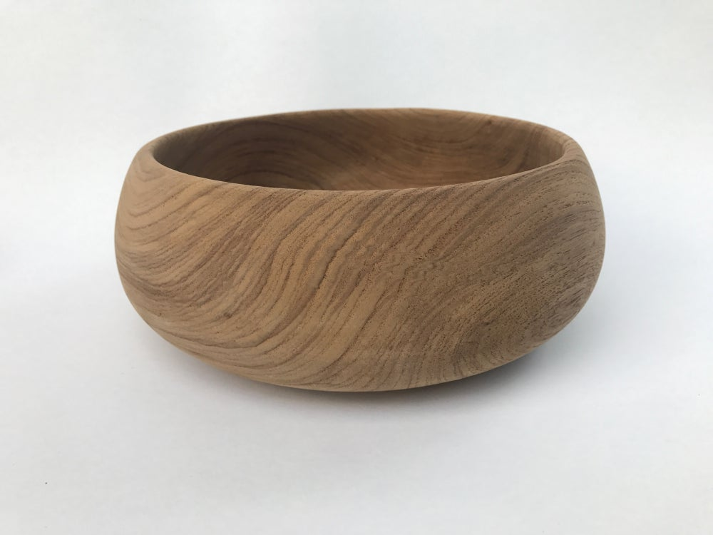 Image of Raw Wooden Bowl #117