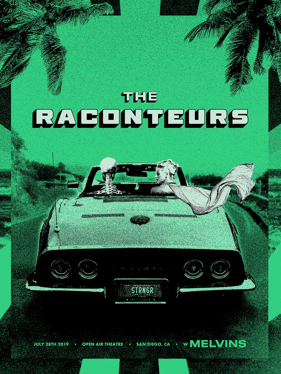 Image of The Raconteurs / San Diego 2019 / Green