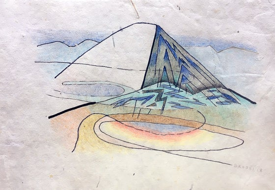 Image of Iceland Drawing #10