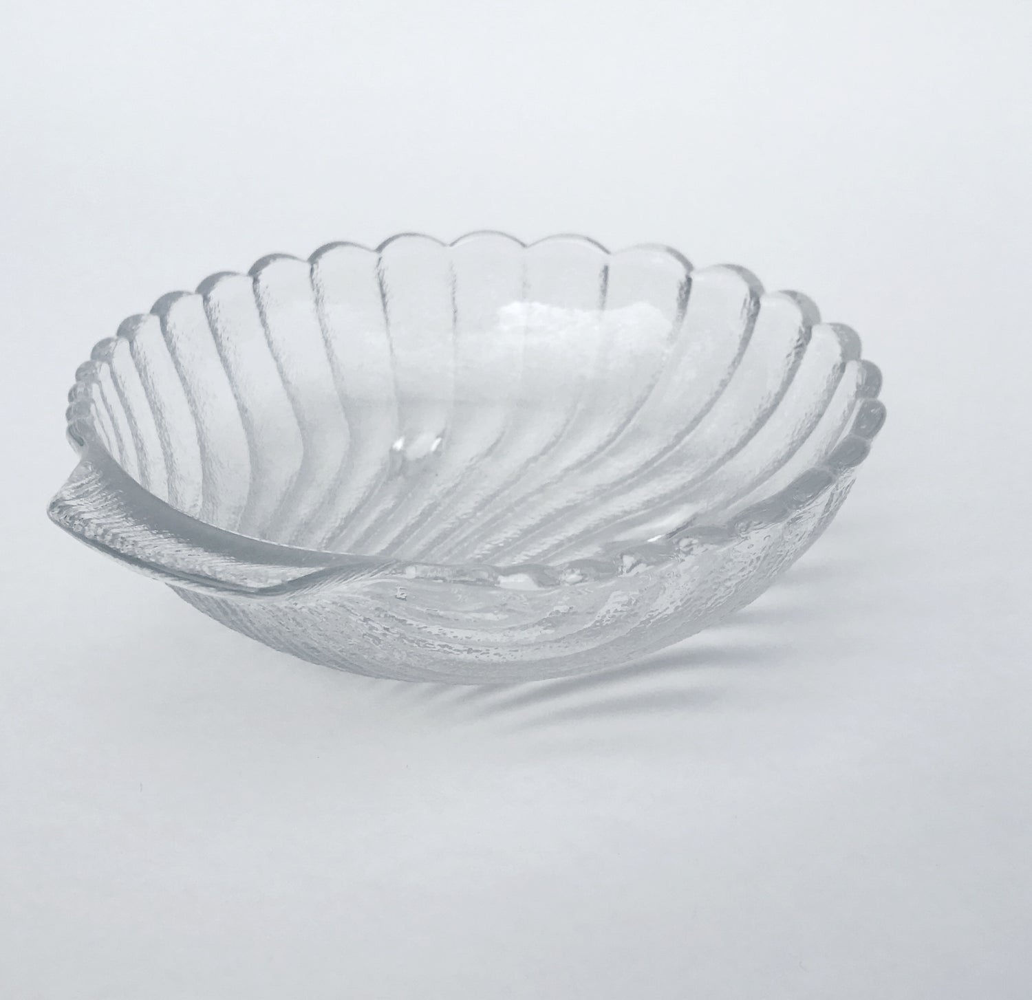 Image of Small Glass Shell Dish #100