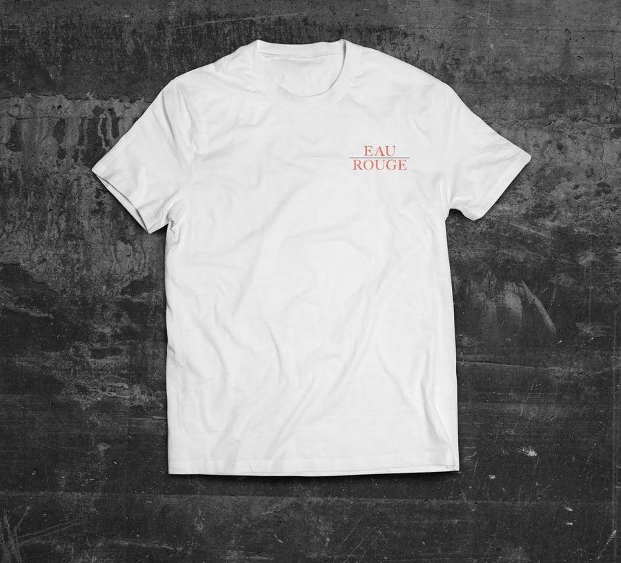 Image of Shirt 'EAU' white