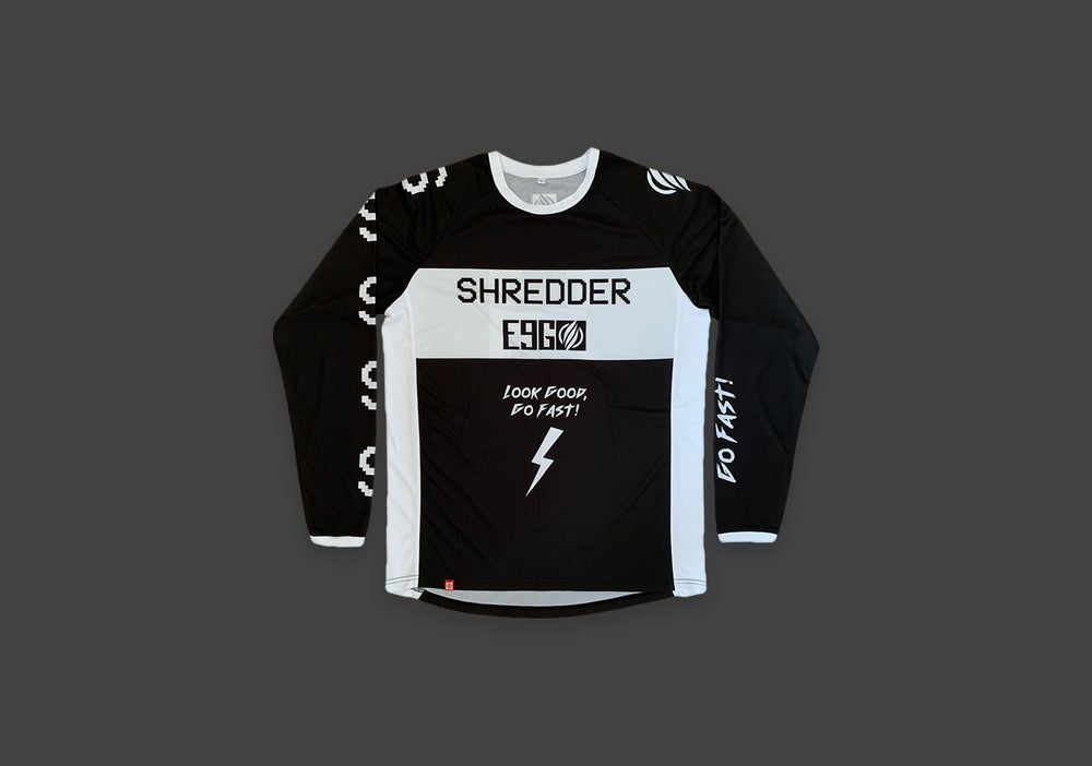 Image of Shredder X E9G Collab Riding Jersey