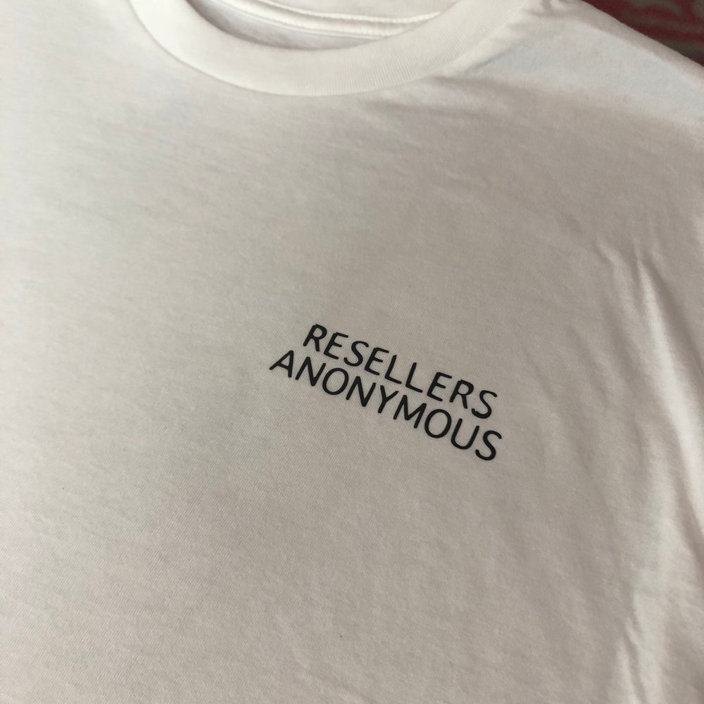 "Image of Sole Food Kicks ""Resellers Anonymous"" Tee"