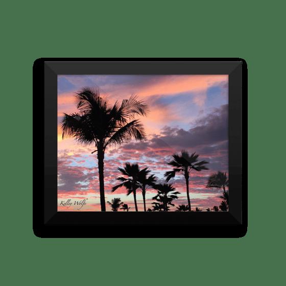 Image of Sunset 4 Framed