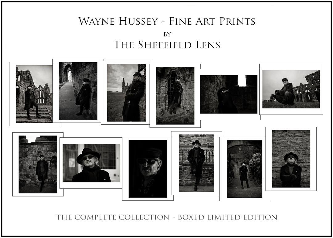 Image of Wayne Hussey -  Special Edition by The Sheffield Lens - The Complete Collection Box Set
