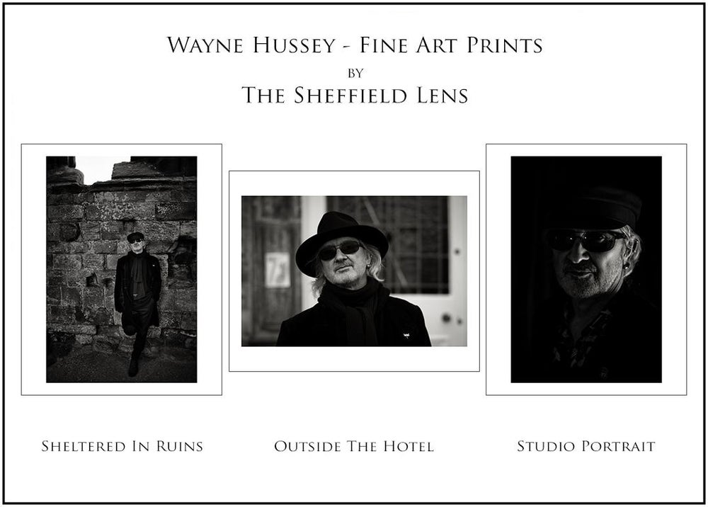 Image of Wayne Hussey - Special Edition by The Sheffield Lens - Single Prints