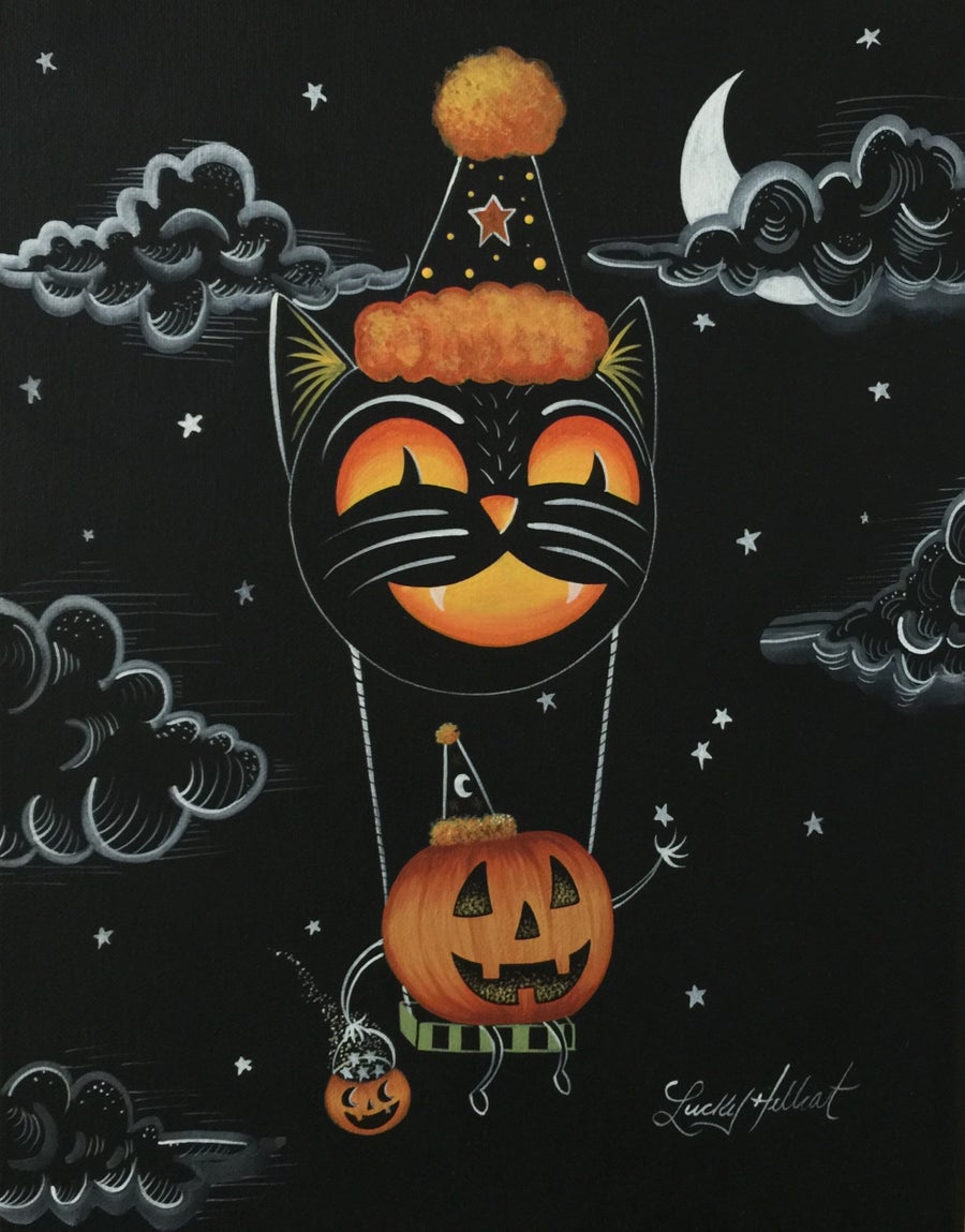 Image of Hallows-Eve 8 x 10 Signed Print