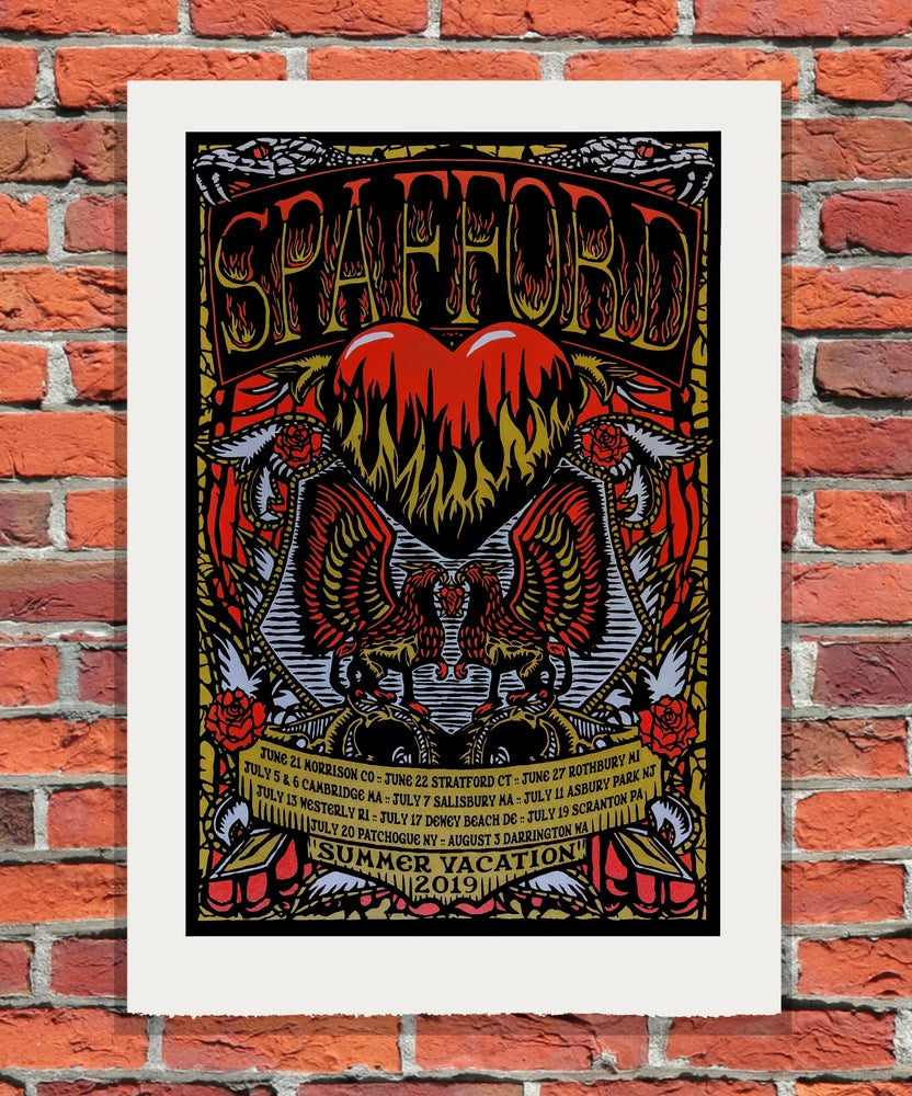 Image of Spafford Summer Vacation 2019 Tour Print
