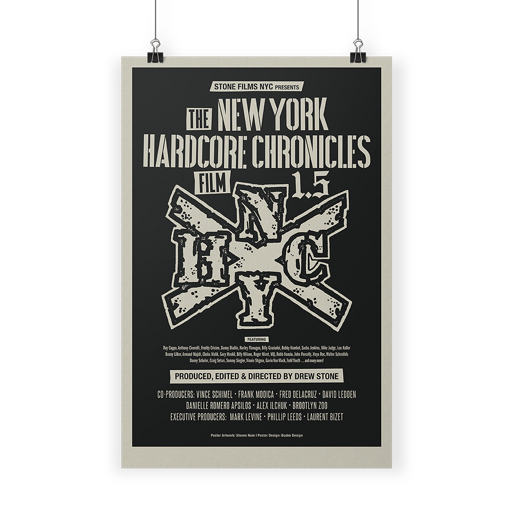 NYHC Chronicles Film Print