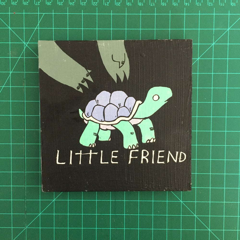 Image of Little Friend Painting