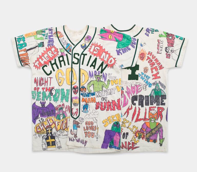 Image of No God/Fantastic 14 1950's-60's Baseball Jersey