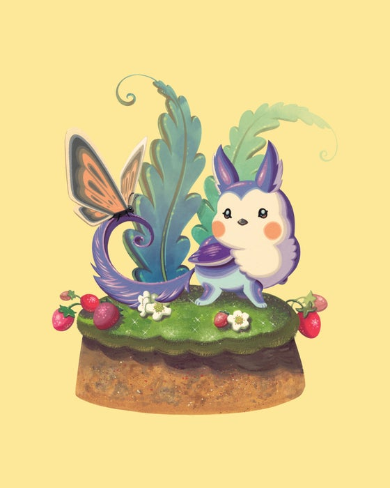 Image of Bouquet Forest - Scoop the Griffin