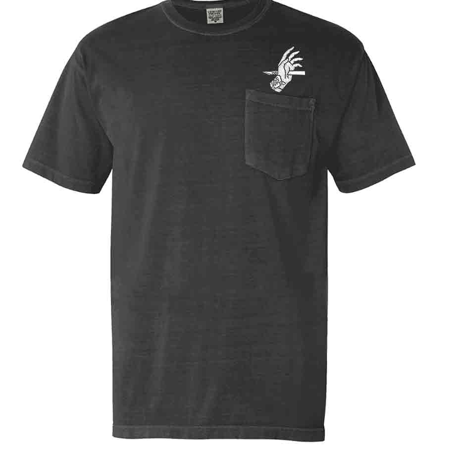 Image of Measure Twice - Embroidered Pocket T-shirt