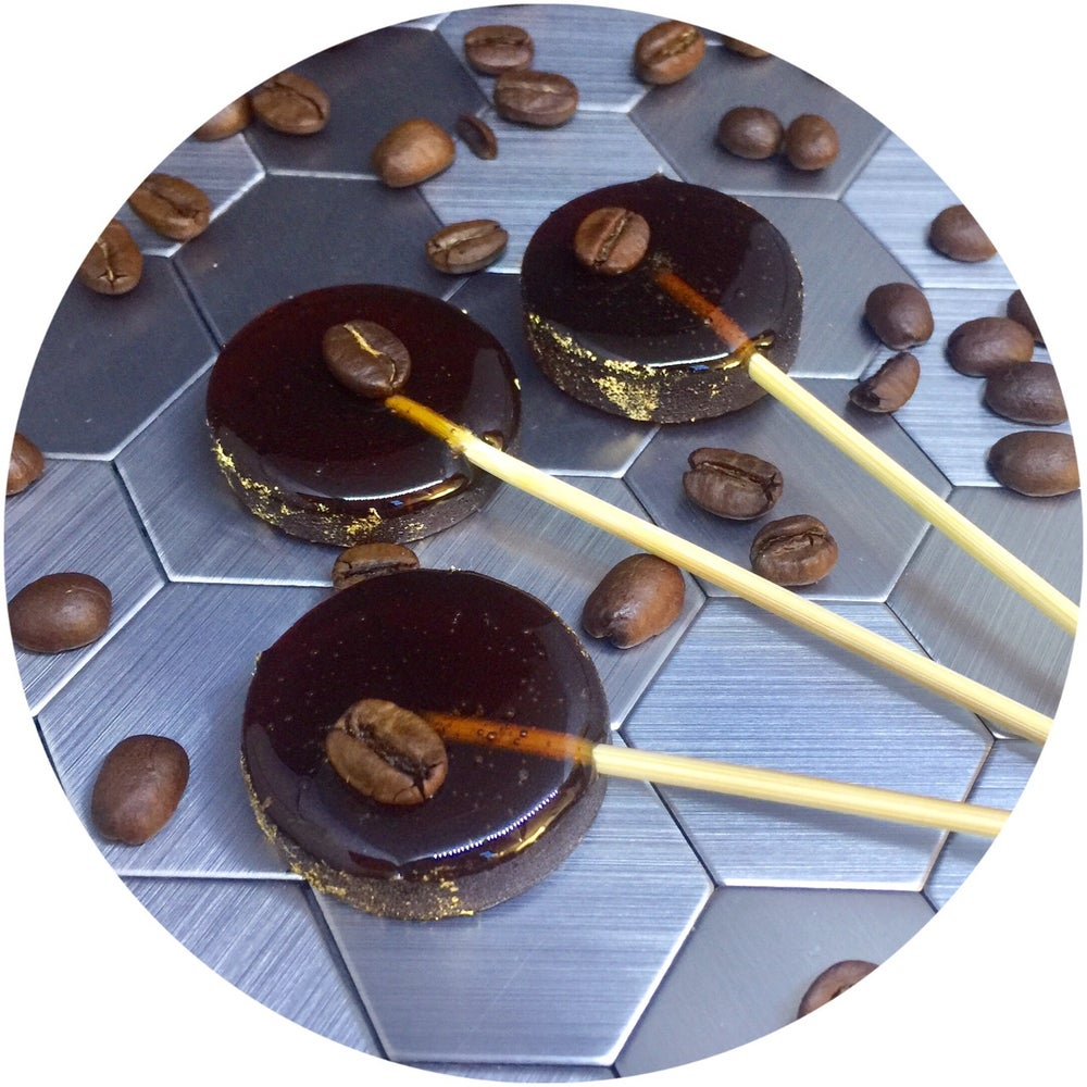 Image of Espresso Martini Cocktail Lollipops