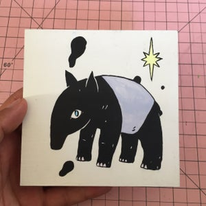 Image of Tapir Painting