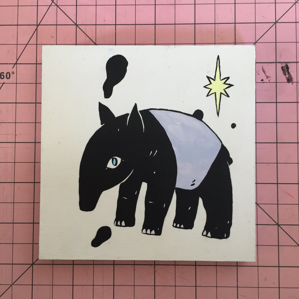 Image of Tapir Painting