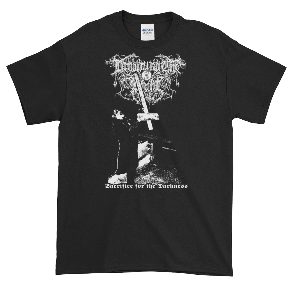 "Image of Drowning the Light - ""Sacrifice for the Darkness"" shirt"