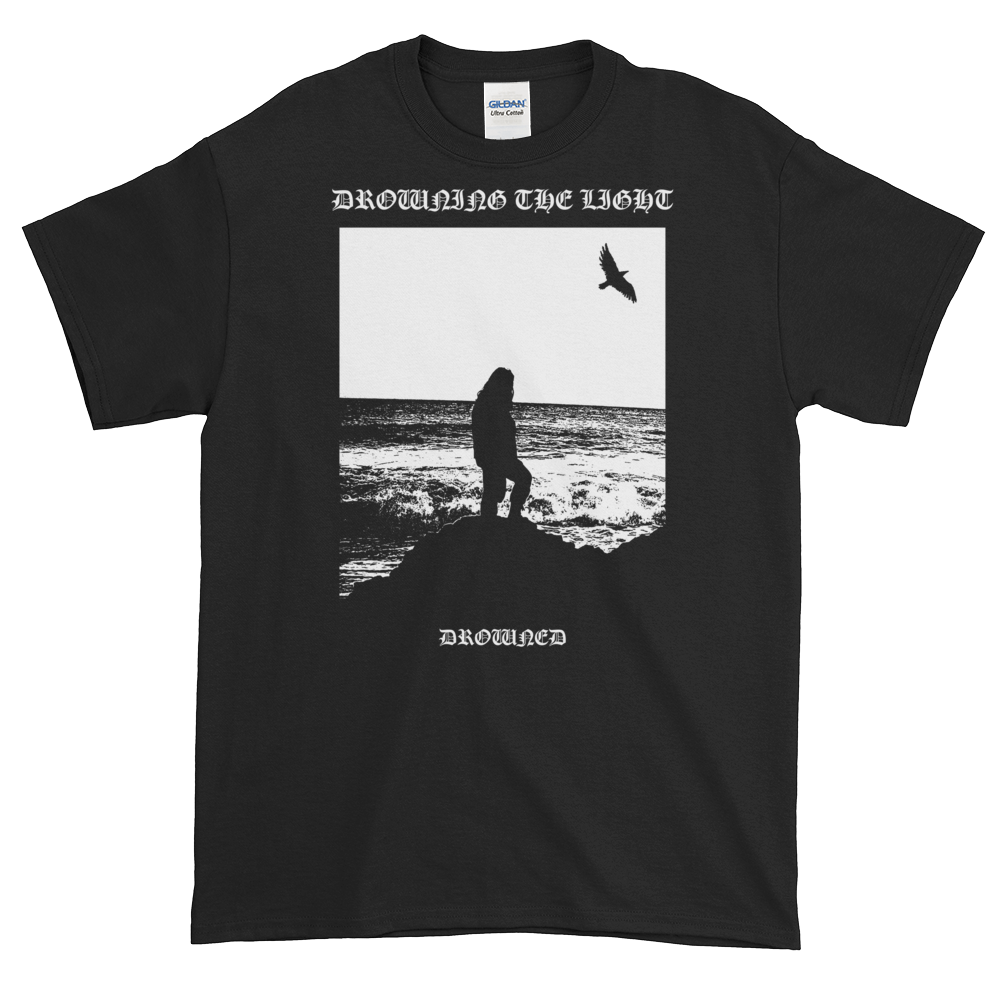 "Image of Drowning the Light - ""Drowned"" shirt"