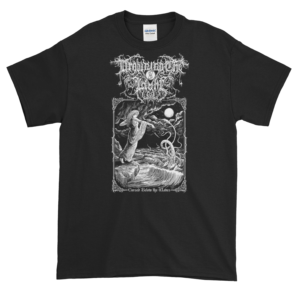 "Image of Drowning the Light - ""Cursed Below the Waves"" #2 shirt"