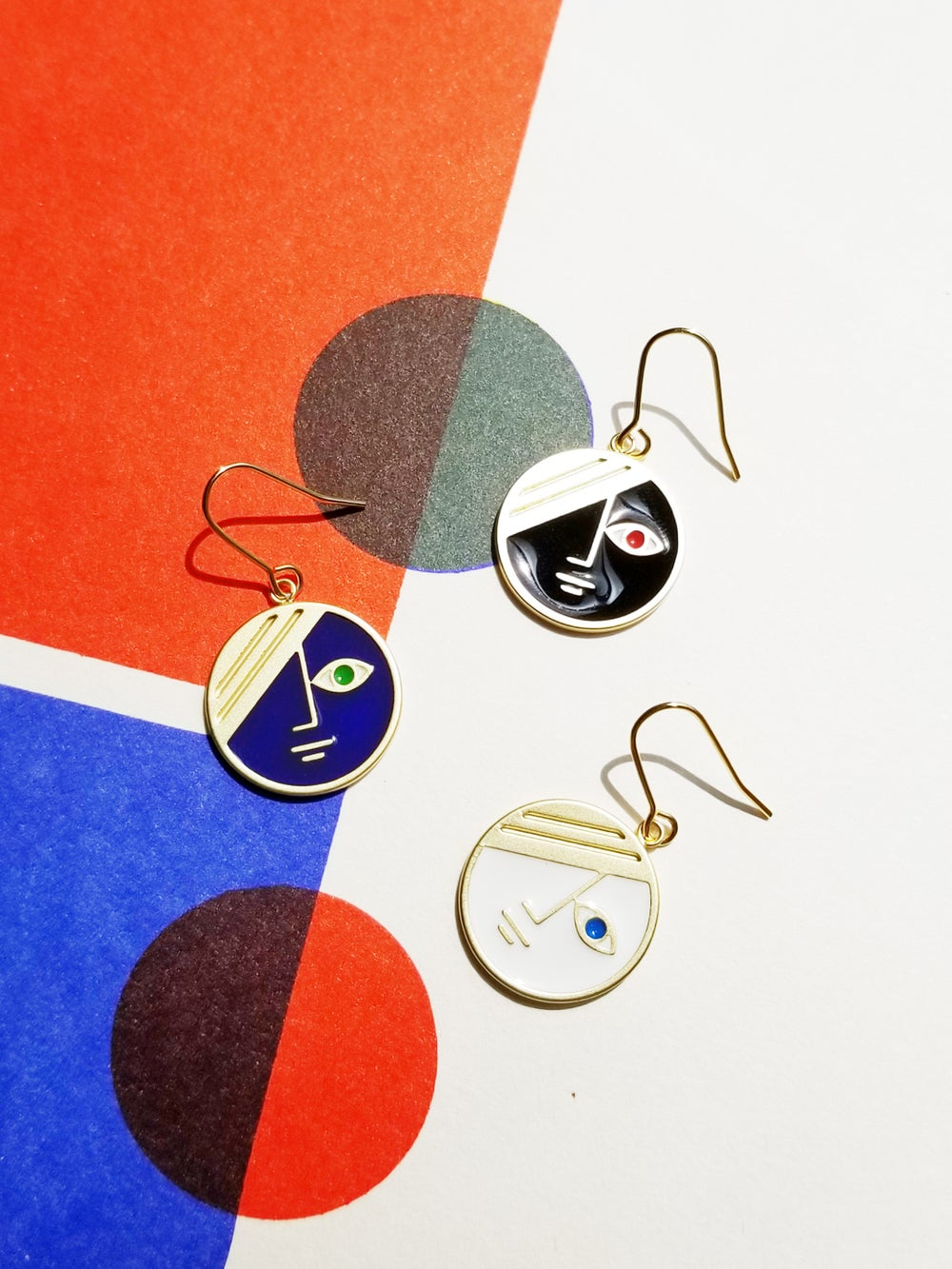 Mini Phase Earrings • Stain Stainless steel