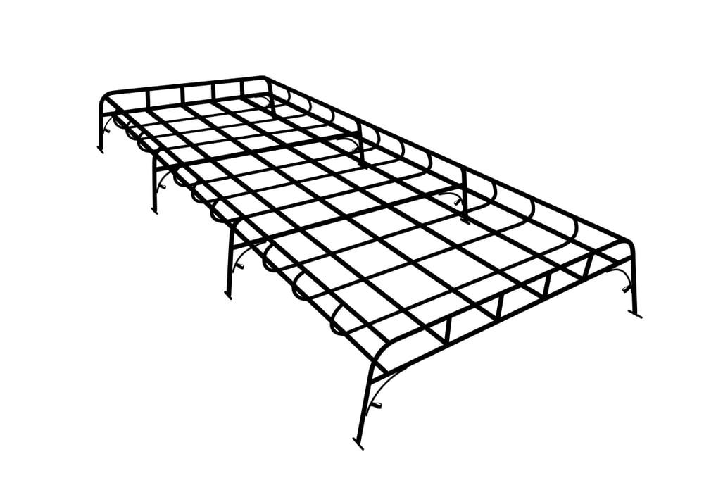 Image of Full length 8 leg rack