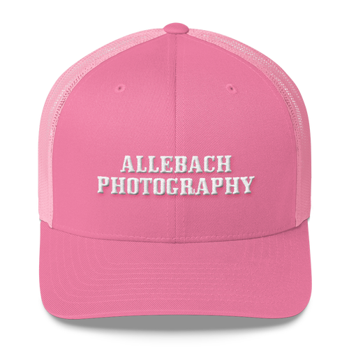 Image of Allebach Photography Embroidered Trucker Hat