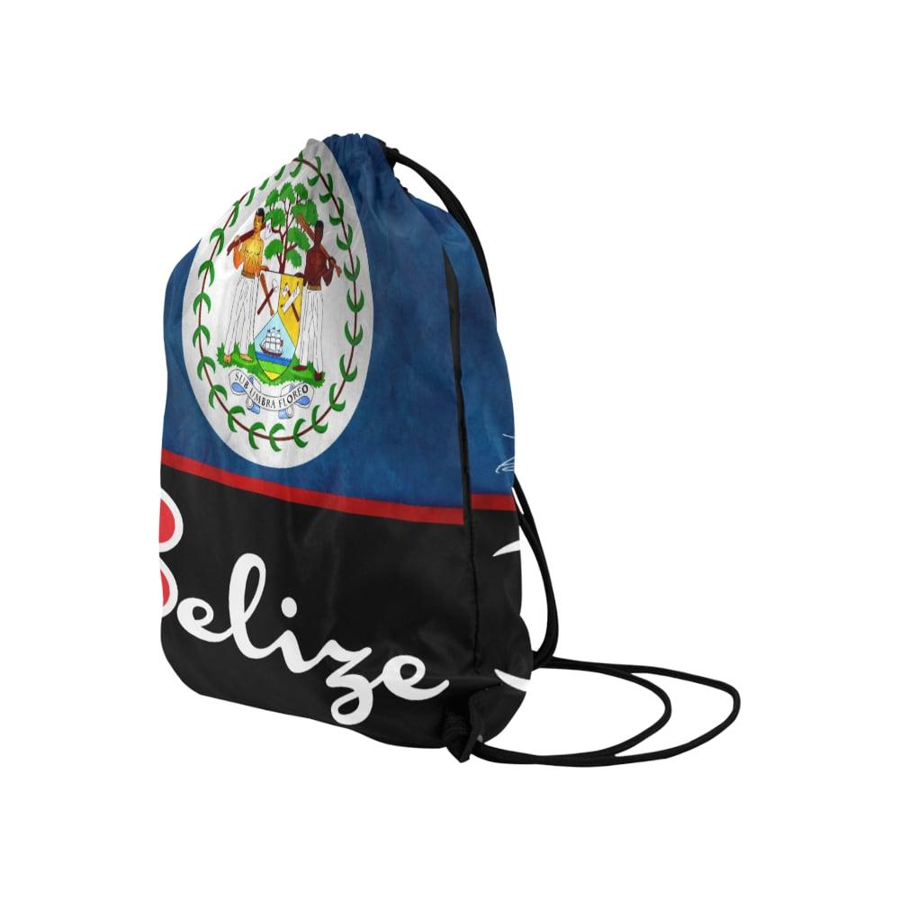 """Image of BELIZE - Medium Drawstring Bag 13.8""""(W) * 18.1""""(H)"""