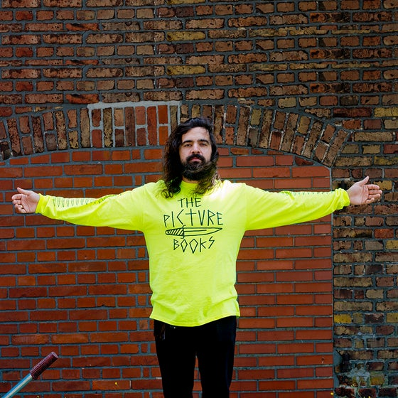 Image of Dagger Long Sleeve Neon Yellow